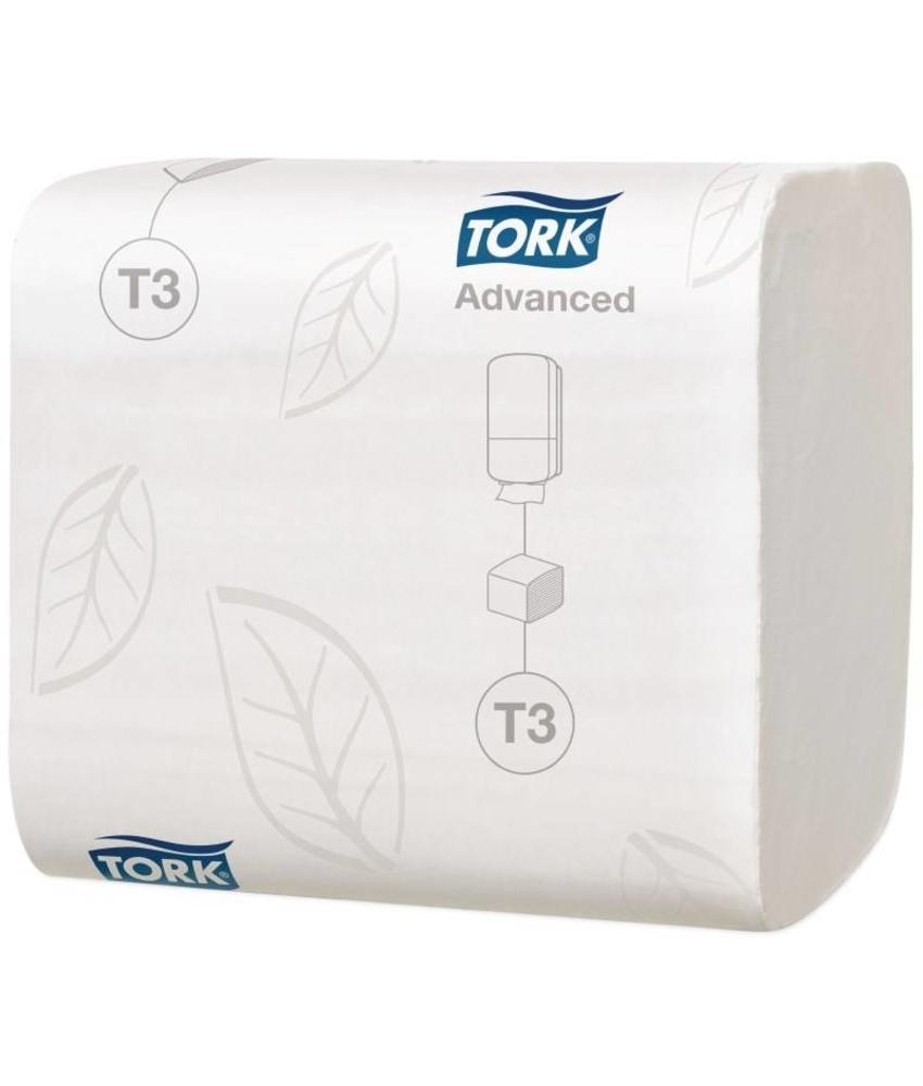 Tork witte tissue navulling 30 pakken 30 stuks