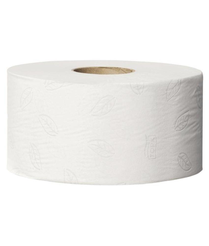 Tork Tork Mini Jumbo navulling toiletpapier 12 rollen 12 stuks