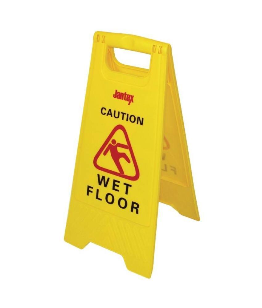 "Jantex Jantex waarschuwingsbord ""Wet floor"""