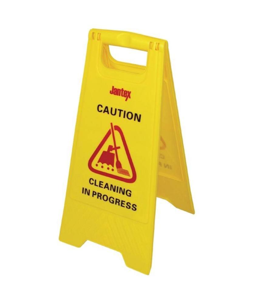 "Jantex Jantex waarschuwingsbord ""Cleaning in progress"""