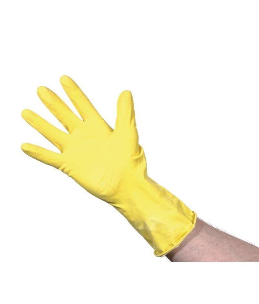 jantex Jantex huishoudhandschoenen geel S