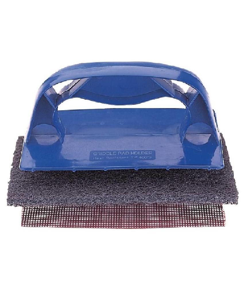 Houder voor grill reinigingssysteem