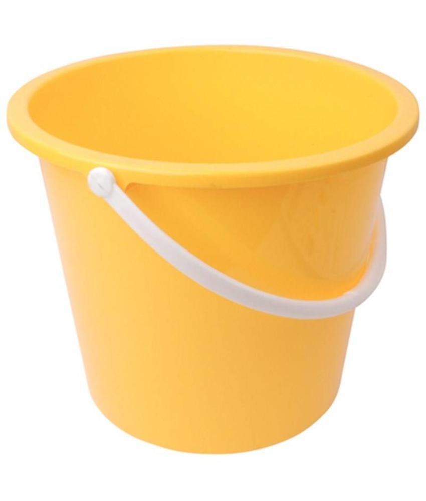 Jantex Jantex kunststof emmer 10ltr geel