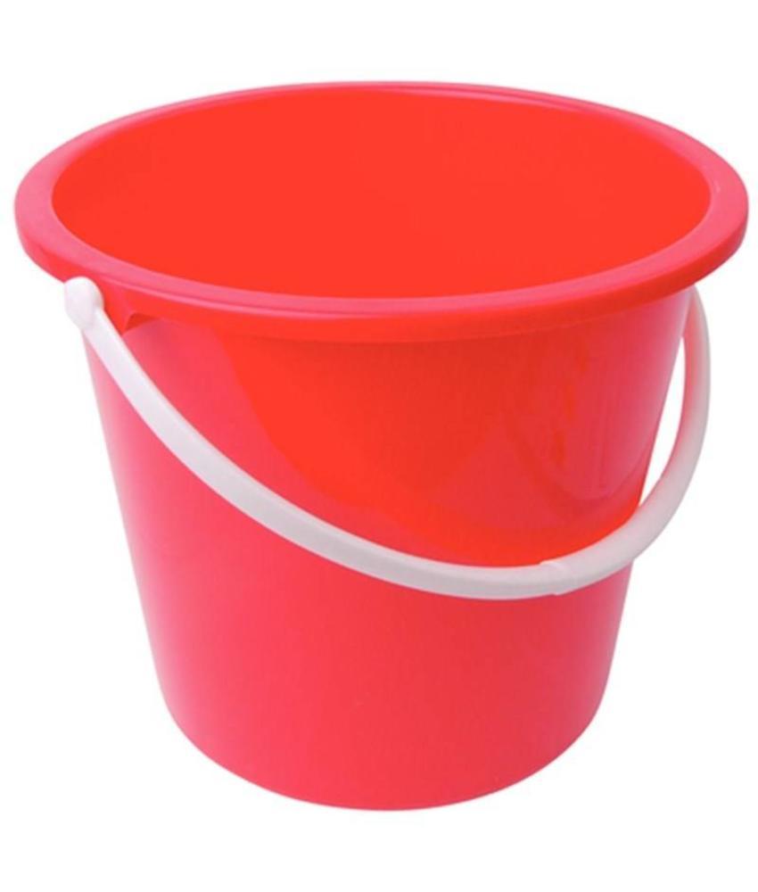 Jantex Jantex kunststof emmer 10ltr rood