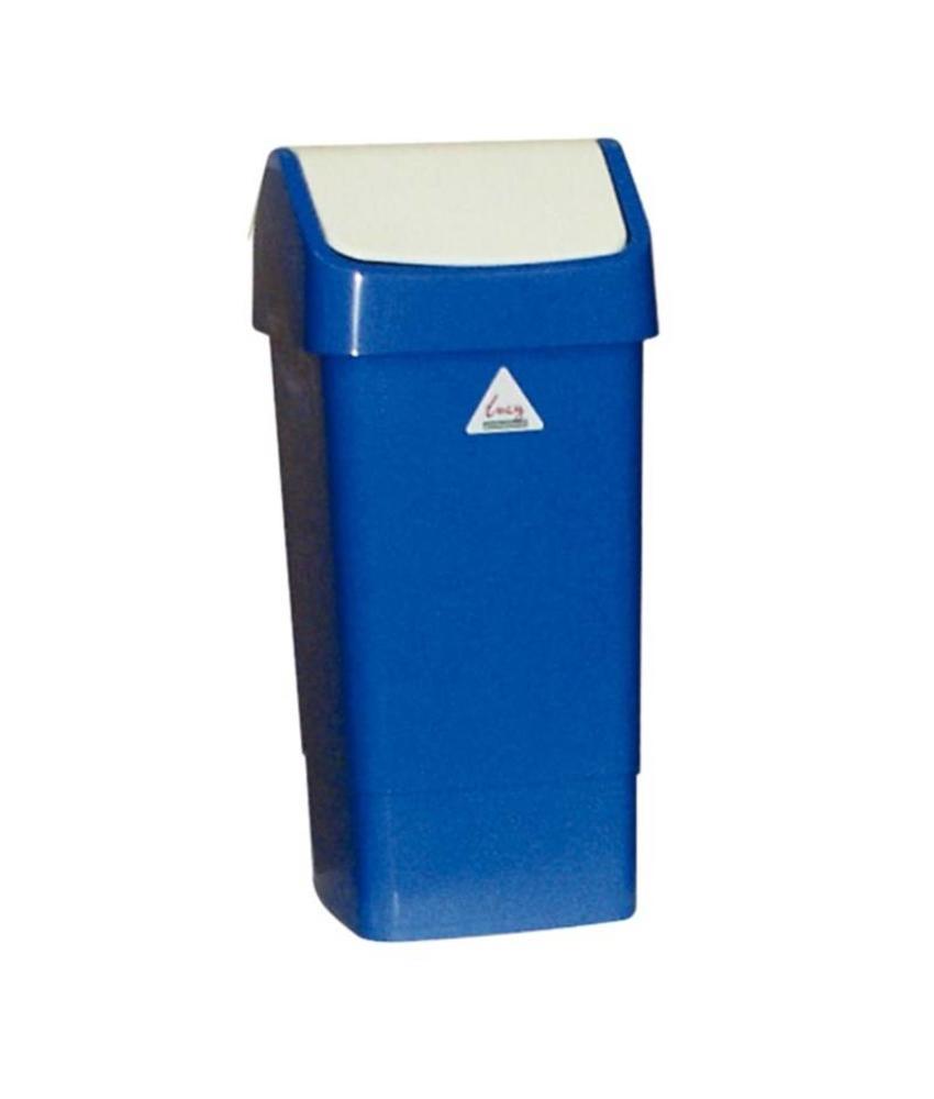 Scot Young SYR afvalbak met schommeldeksel blauw