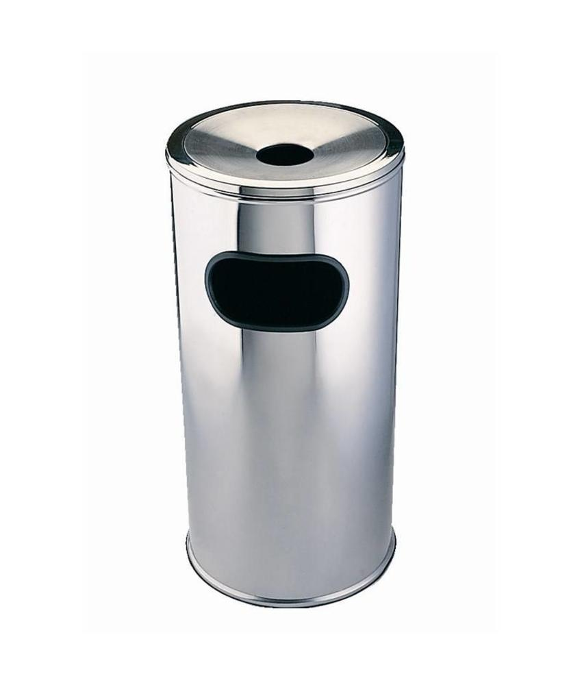 Bolero Bolero afvalbak met asbak groot