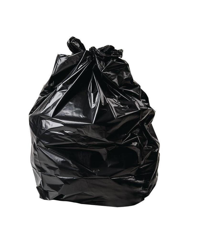 Jantex Jantex zware kwaliteit vuilniszakken zwart 200 stuks 200 stuks