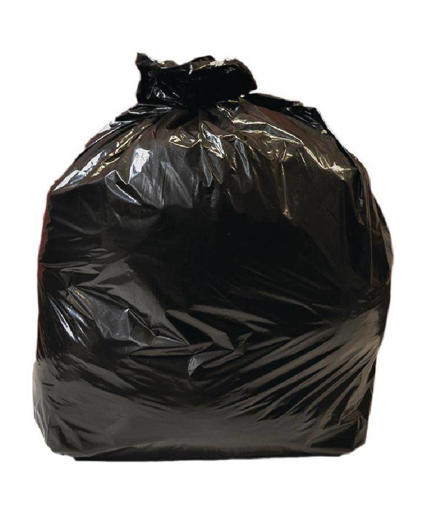 Jantex Jantex middelzware kwaliteit vuilniszakken zwart 10 stuks 10 stuks