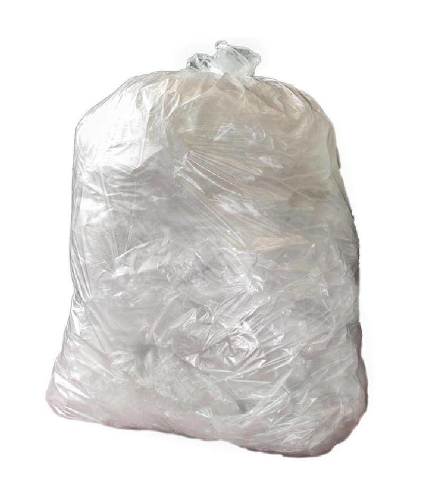 Jantex Jantex middelzware kwaliteit vuilniszakken transparant 200 stuks 200 stuks