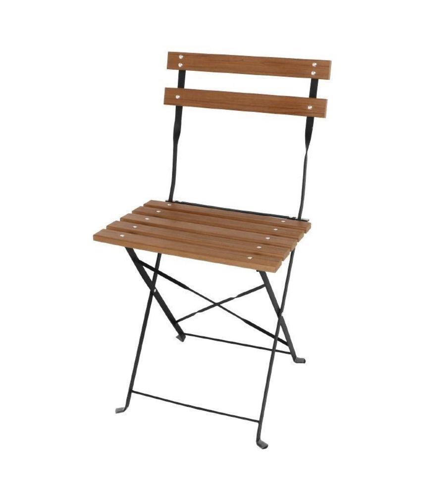 Bolero Bolero opklapbare polyhout stoelen 2 stuks