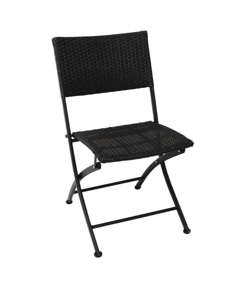 Bolero Bolero opklapbare rotan stoelen 2 stuks