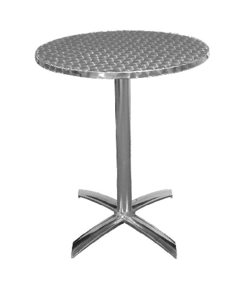 Bolero Bolero ronde tafel met kantelbaar RVS blad 60cm