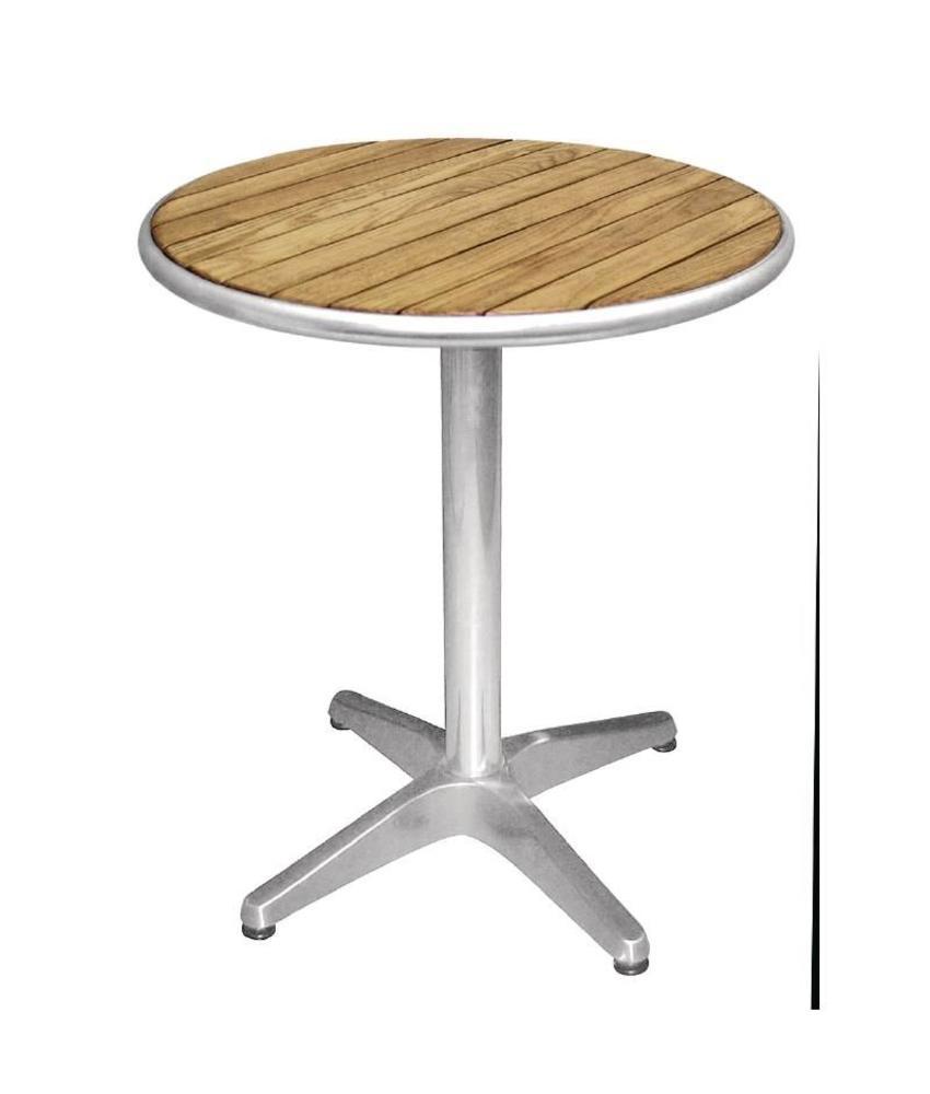 Bolero Bolero ronde tafel met essenhouten blad 80cm