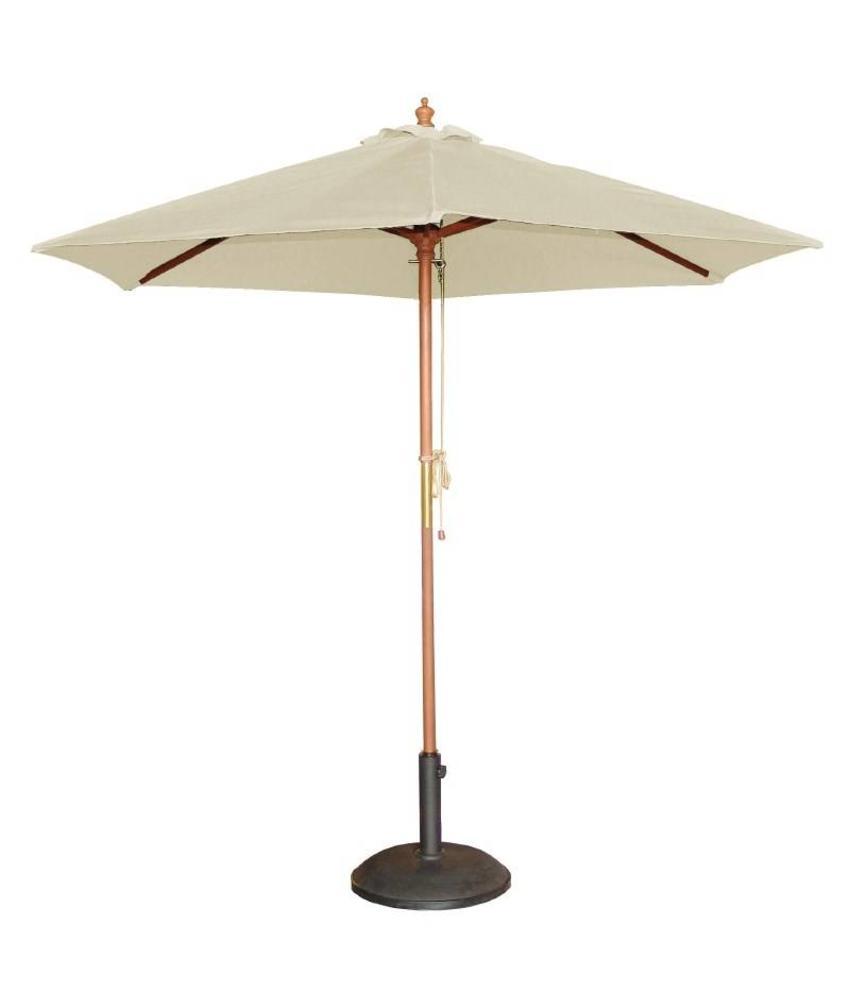 Bolero Bolero ronde crème parasol 3 meter
