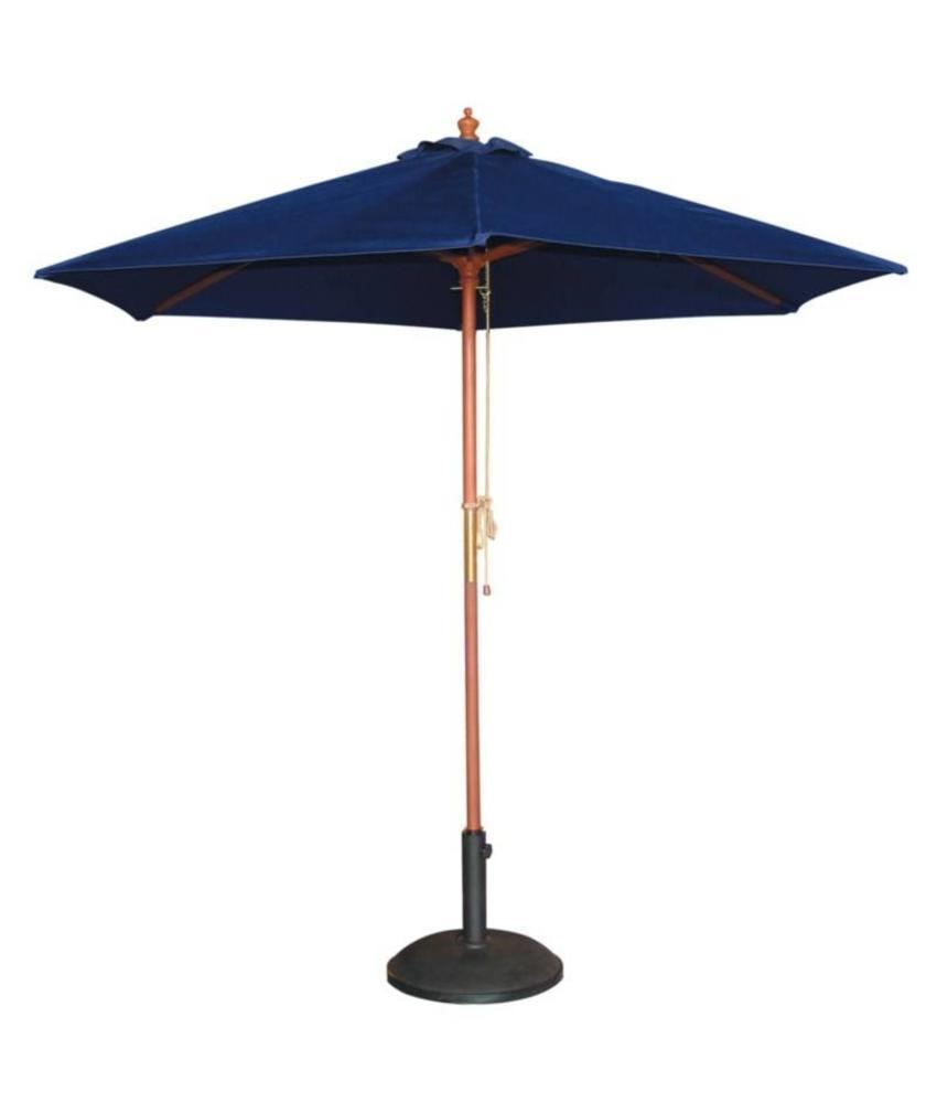 Bolero Bolero ronde donkerblauwe parasol 2,5 meter