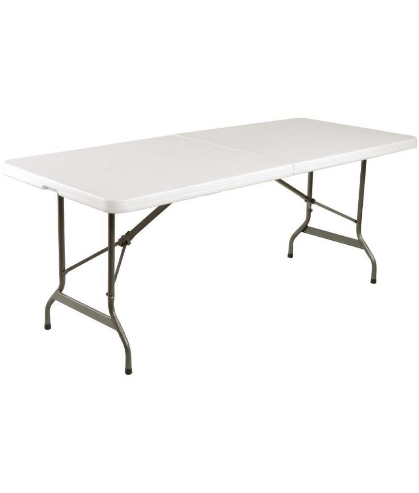 Bolero Bolero inklapbare tafel wit 183cm