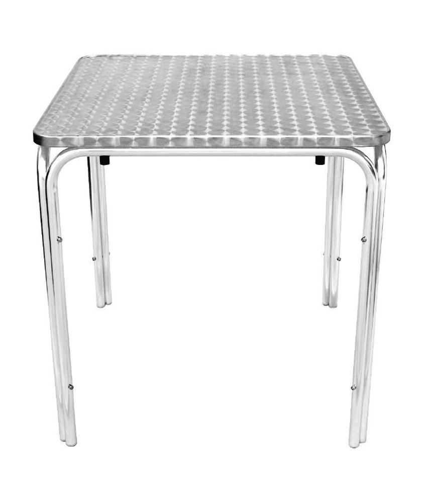 Bolero Bolero vierkante RVS tafel 70cm