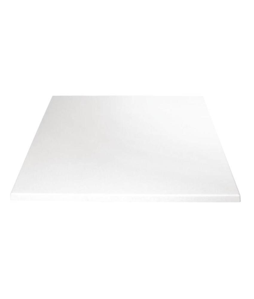 Bolero Bolero vierkant tafelblad wit 60cm