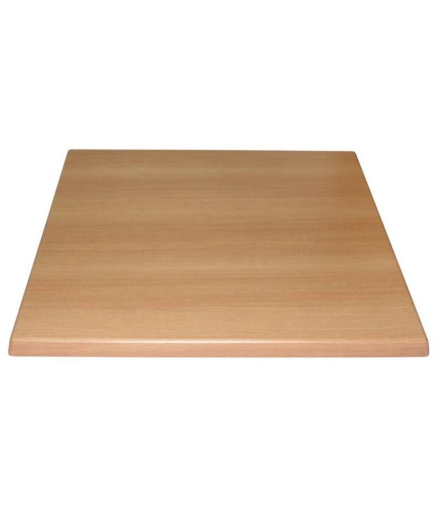 Bolero Bolero vierkant tafelblad beuken 70cm