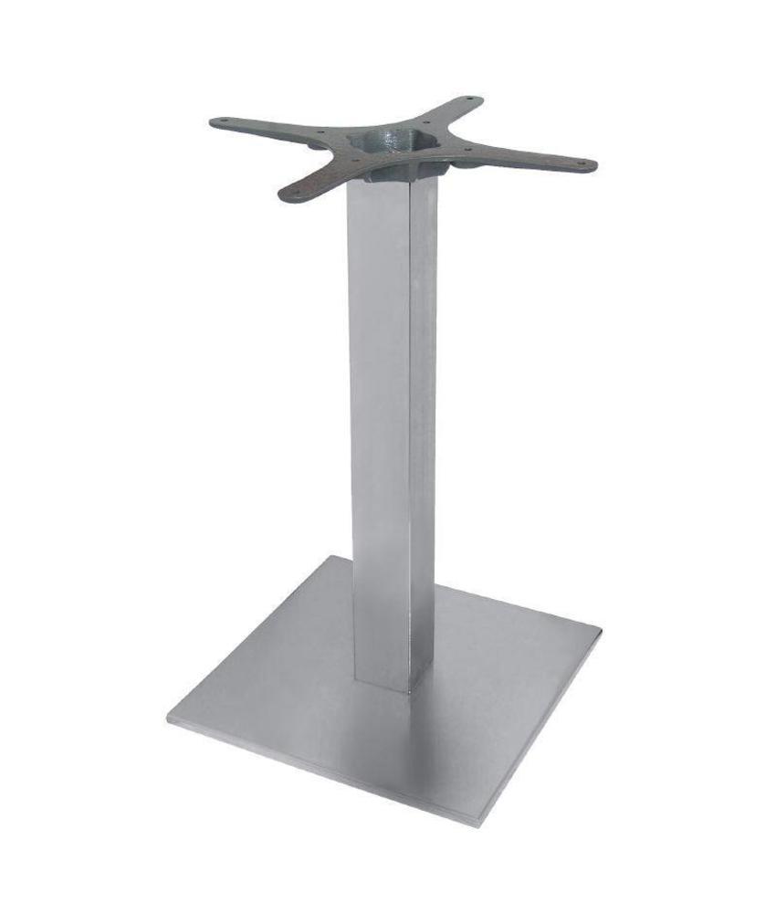 Bolero Bolero vierkant RVS tafelonderstel