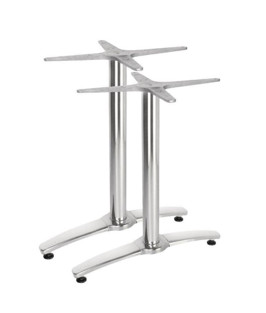 Bolero Bolero dubbele aluminium tafelpoot 2 stuks