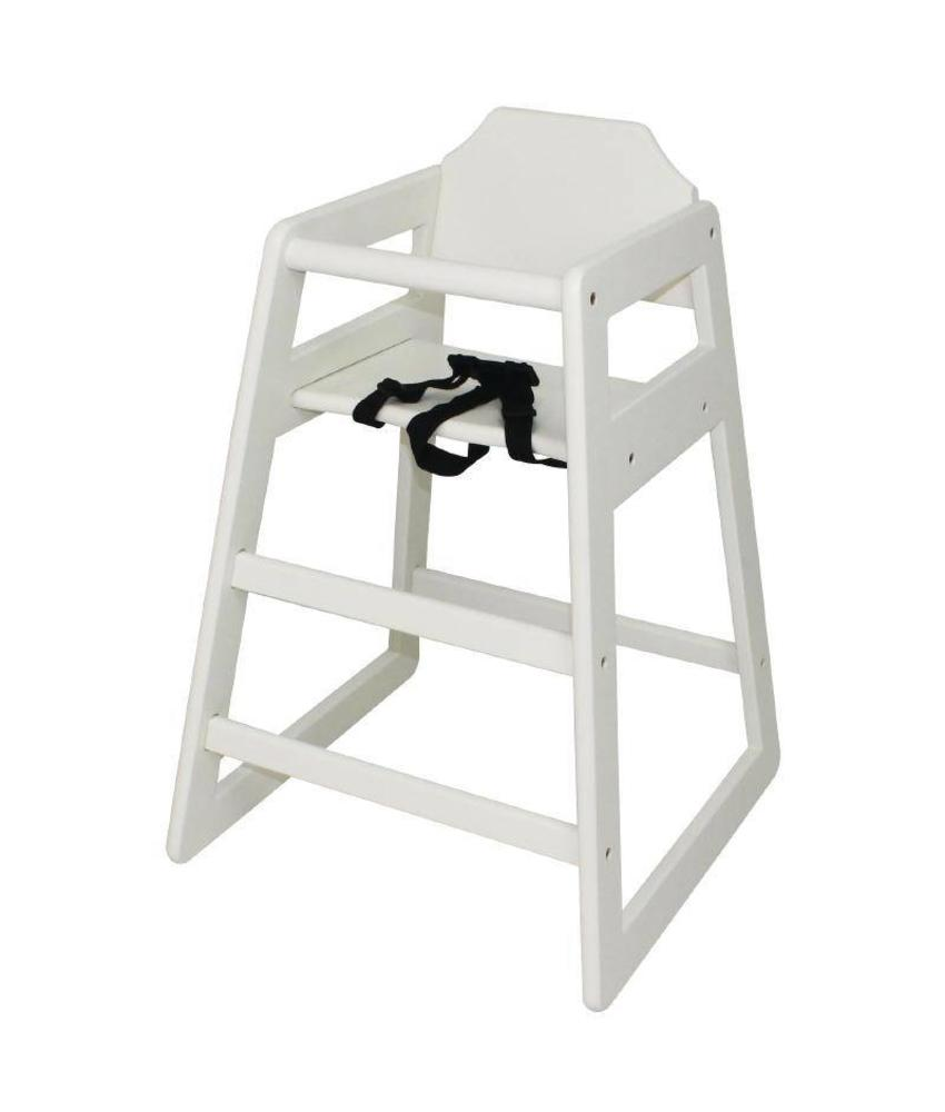Bolero Bolero Hoge Kinderstoel antiek wit