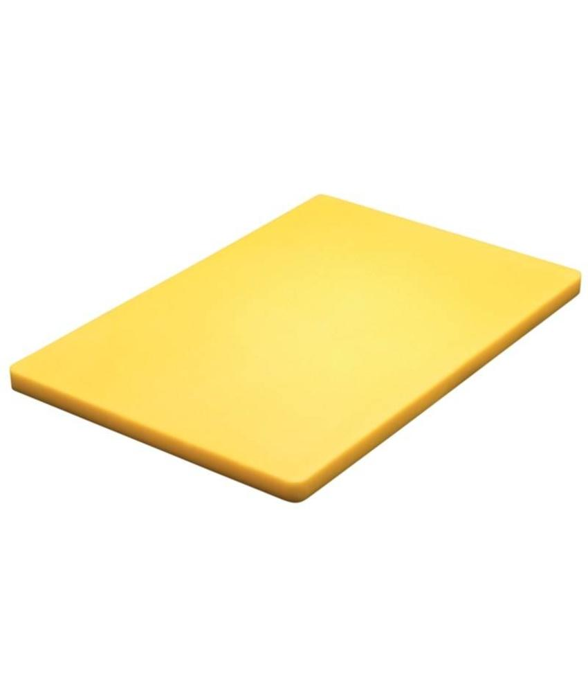 Hygiplas Hygiplas kleurcode lage dichtheid snijplank 2x45x30cm geel