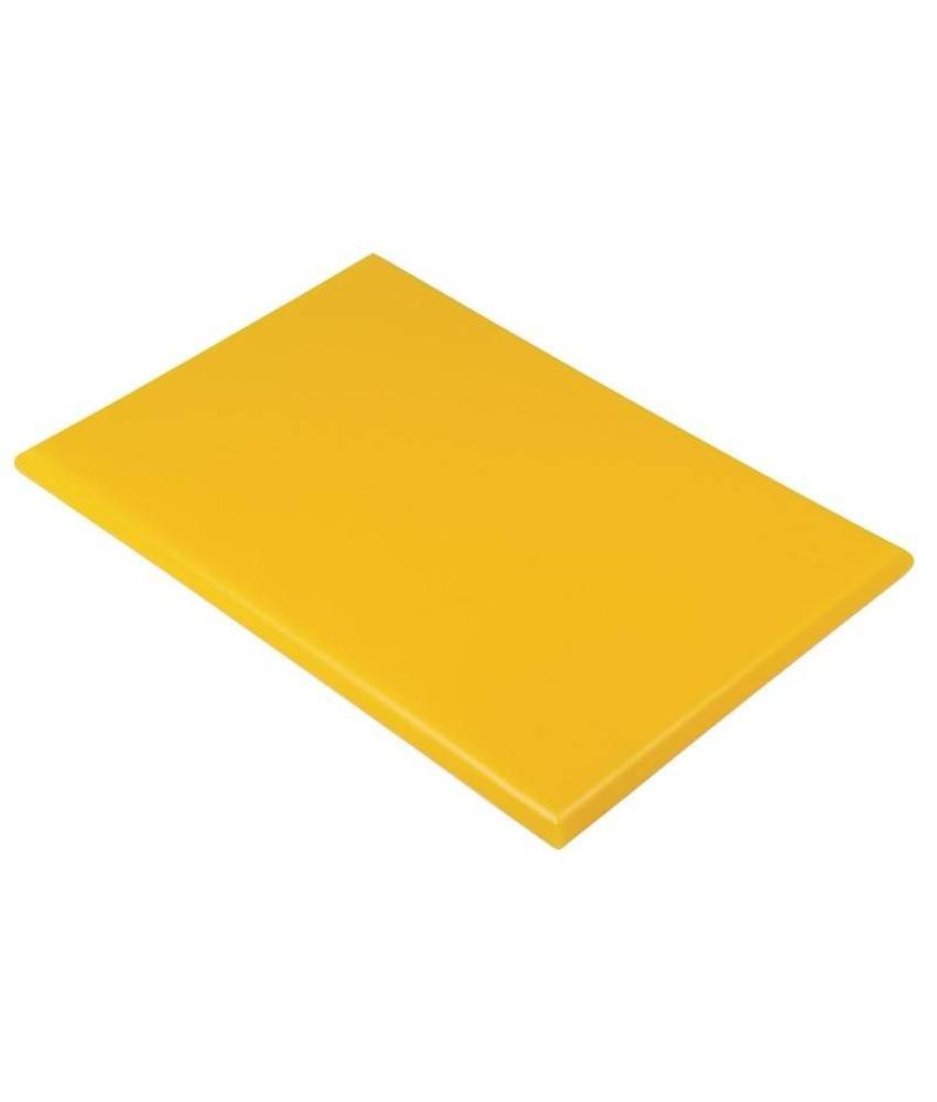 Hygiplas Hygiplas kleurcode snijplank geel 600x450x25mm