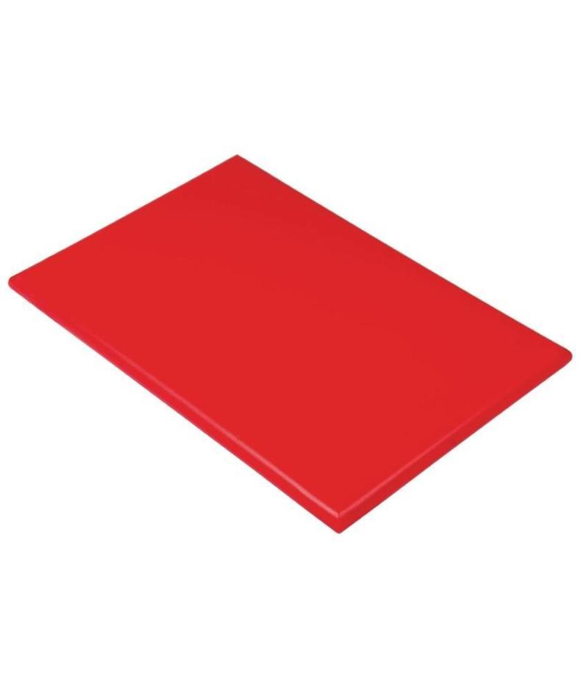 Hygiplas Hygiplas kleurcode snijplank rood 600x450x25mm