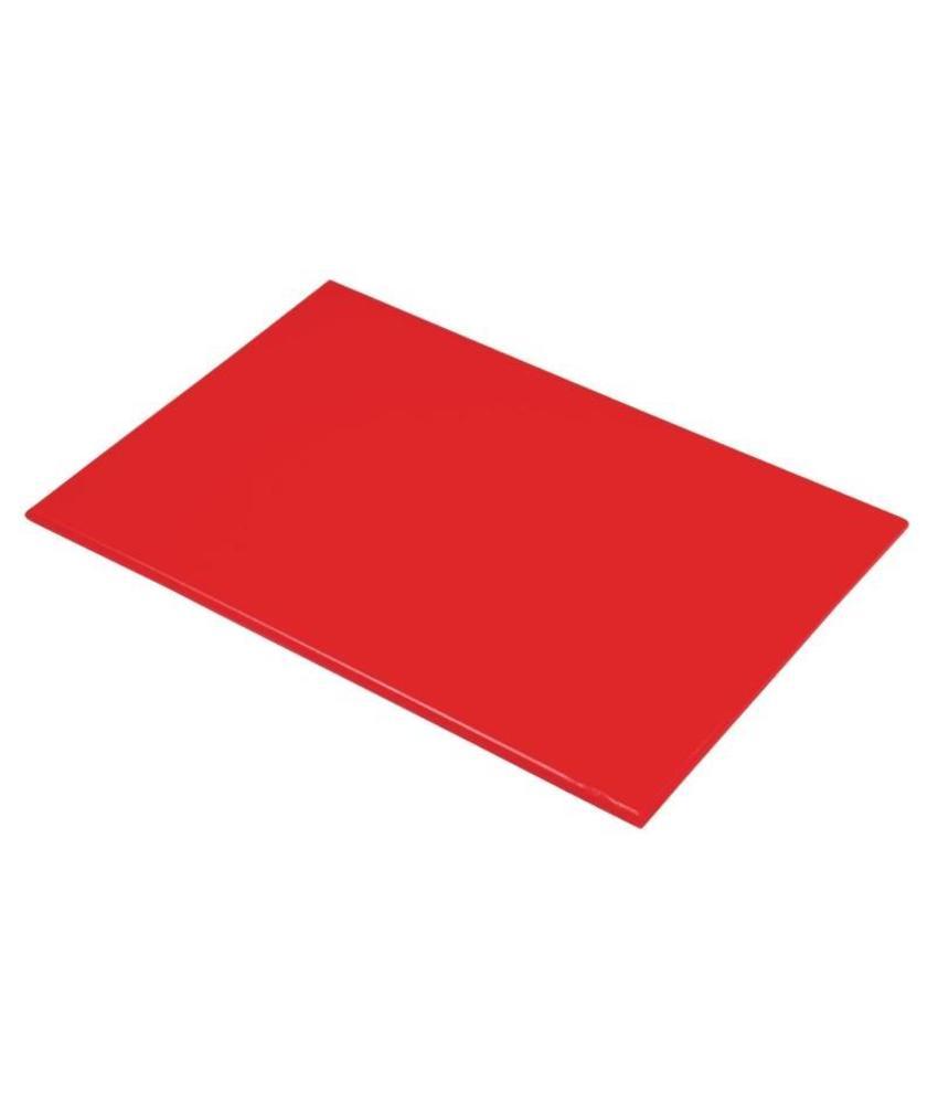 Hygiplas Hygiplas kleurcode snijplank rood 600x450x12mm