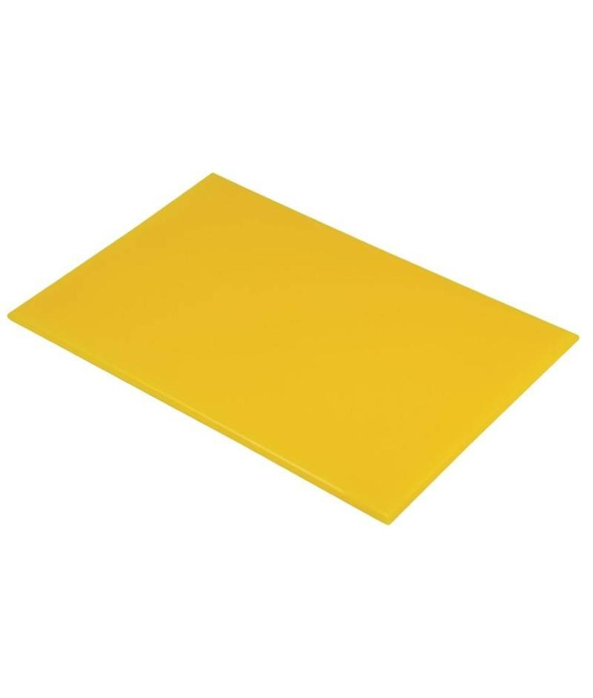 Hygiplas Hygiplas kleurcode snijplank geel 600x450x12mm