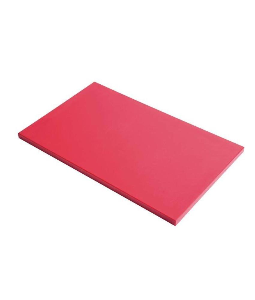 Gastro M Gastro M GN1/1 HDPE snijplank rood 15mm