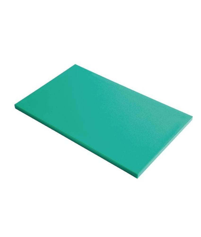 Gastro M Gastro M GN1/2 HDPE snijplank glad groen 15mm