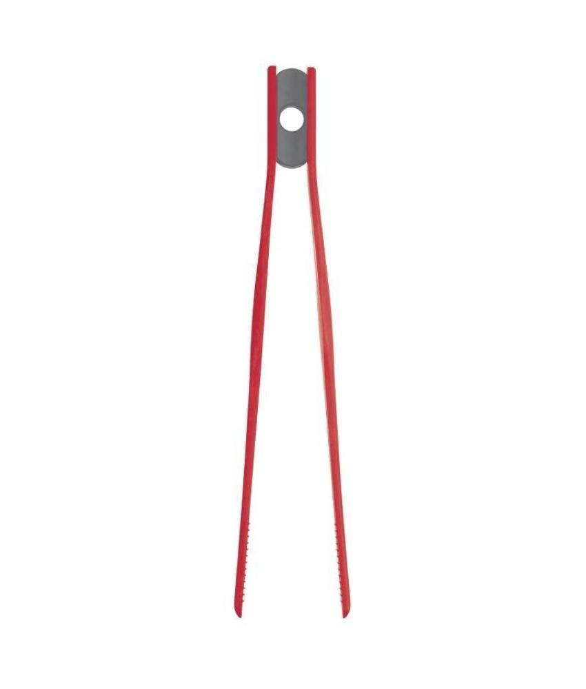 KITCHENCRAFT COLOURWORKS Silicone pincet rood 29cm