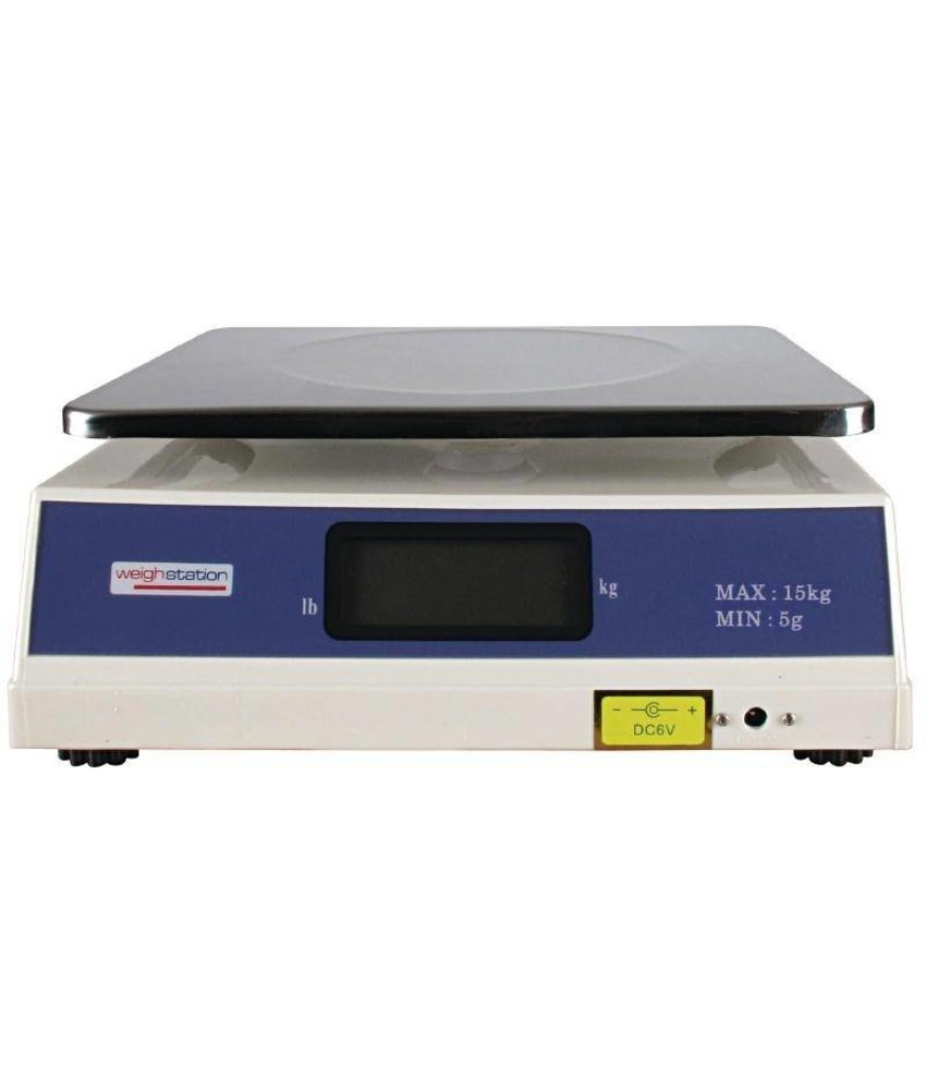 Weighstation Weighstation digitale weegschaal 15kg per 5 gram
