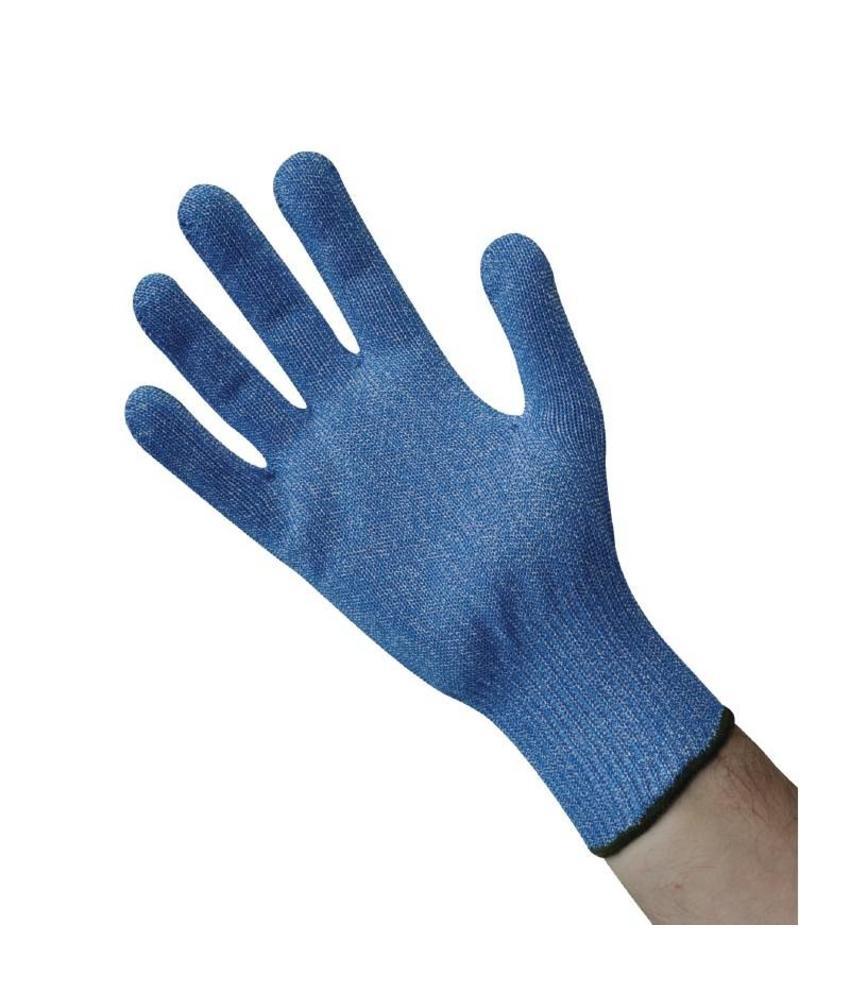 gastronoble Blauwe snijbestendige handschoen L