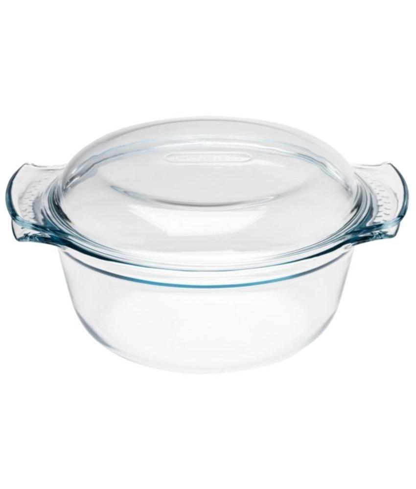 Pyrex Pyrex ronde glazen casserole 3,75L