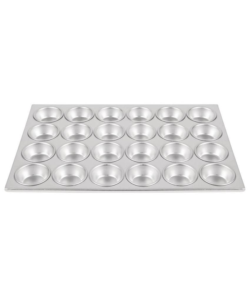 Vogue Vogue aluminium bakvorm 24 muffins