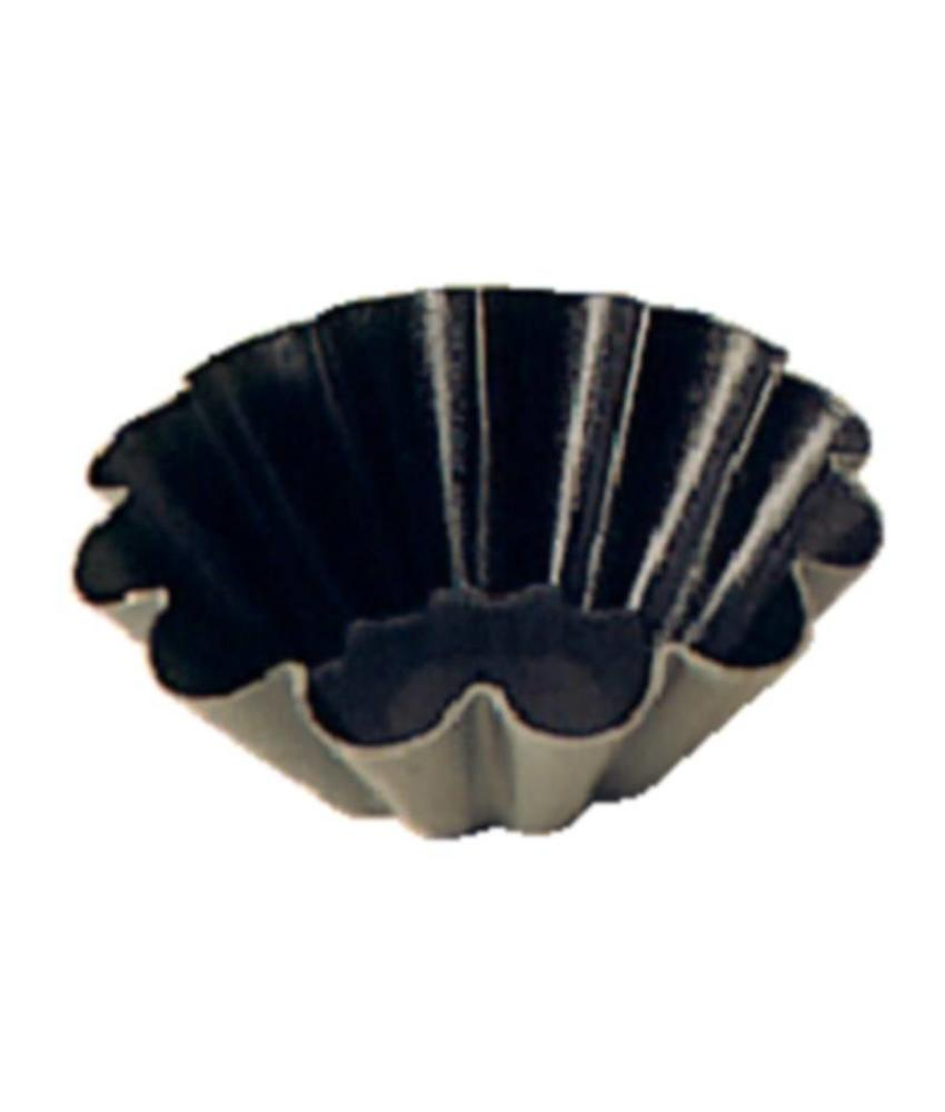 Matfer mini brioche bakvorm anti-kleef 7,5cm
