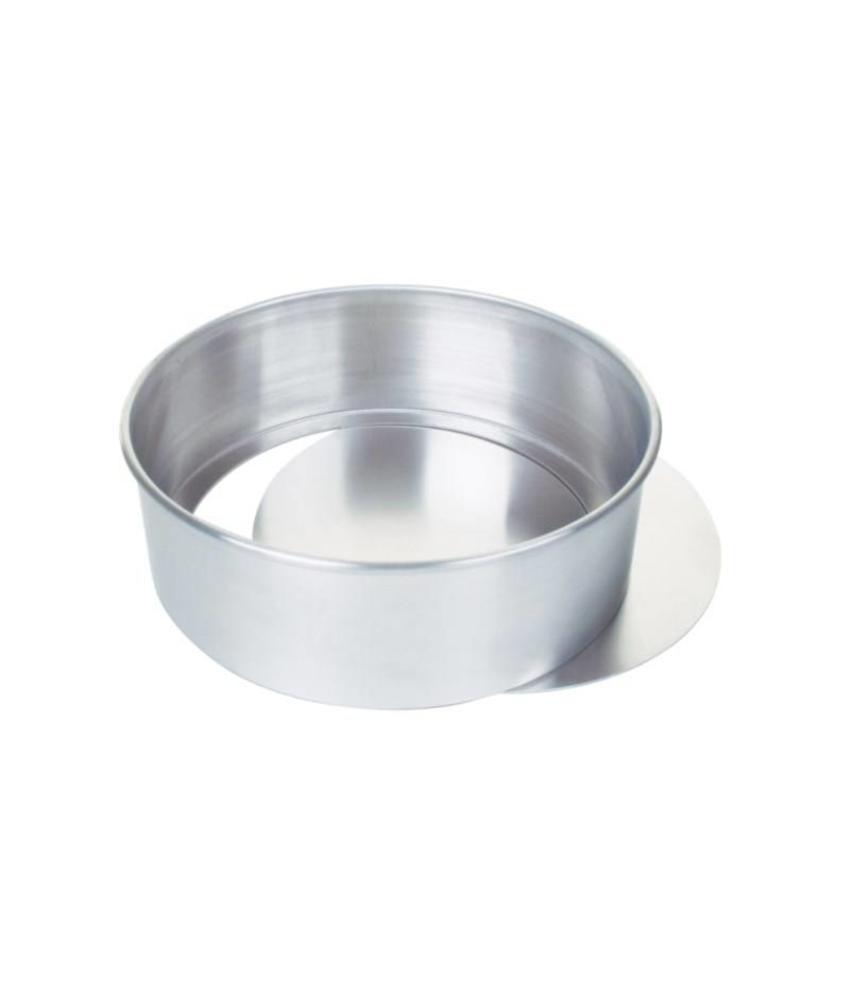 Vogue Aluminium taartvorm met losse bodem 23cm