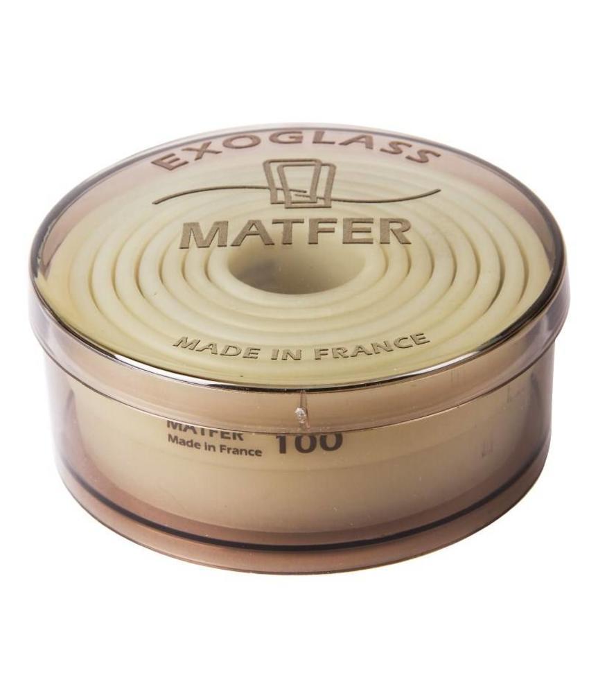Matfer Matfer Exoglass stekerdoos glad 8 stuks