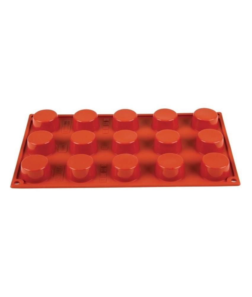 PAVONI ITALIA Pavoni Formaflex siliconen bakvorm 15 petit-fours