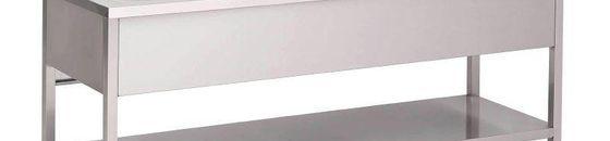 Spoeltafels/afvoer- en aanvoertafel