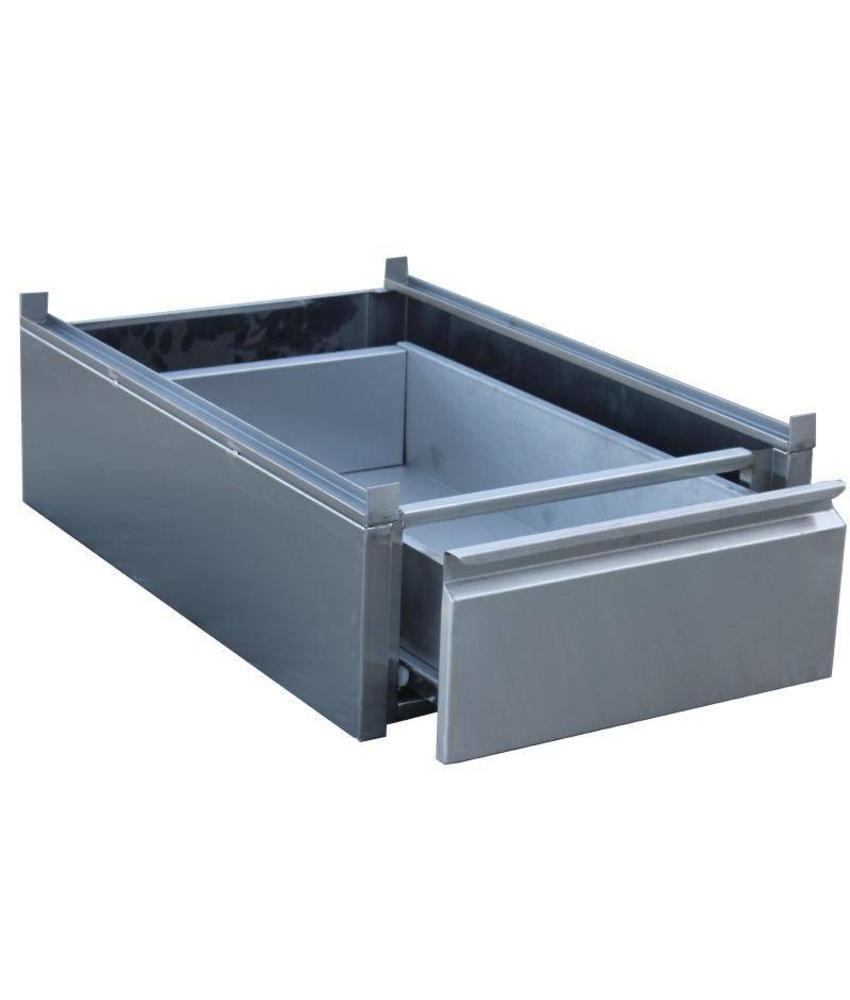 Gastro M Gastro M RVS lade voor onderbouw 45x58x18cm