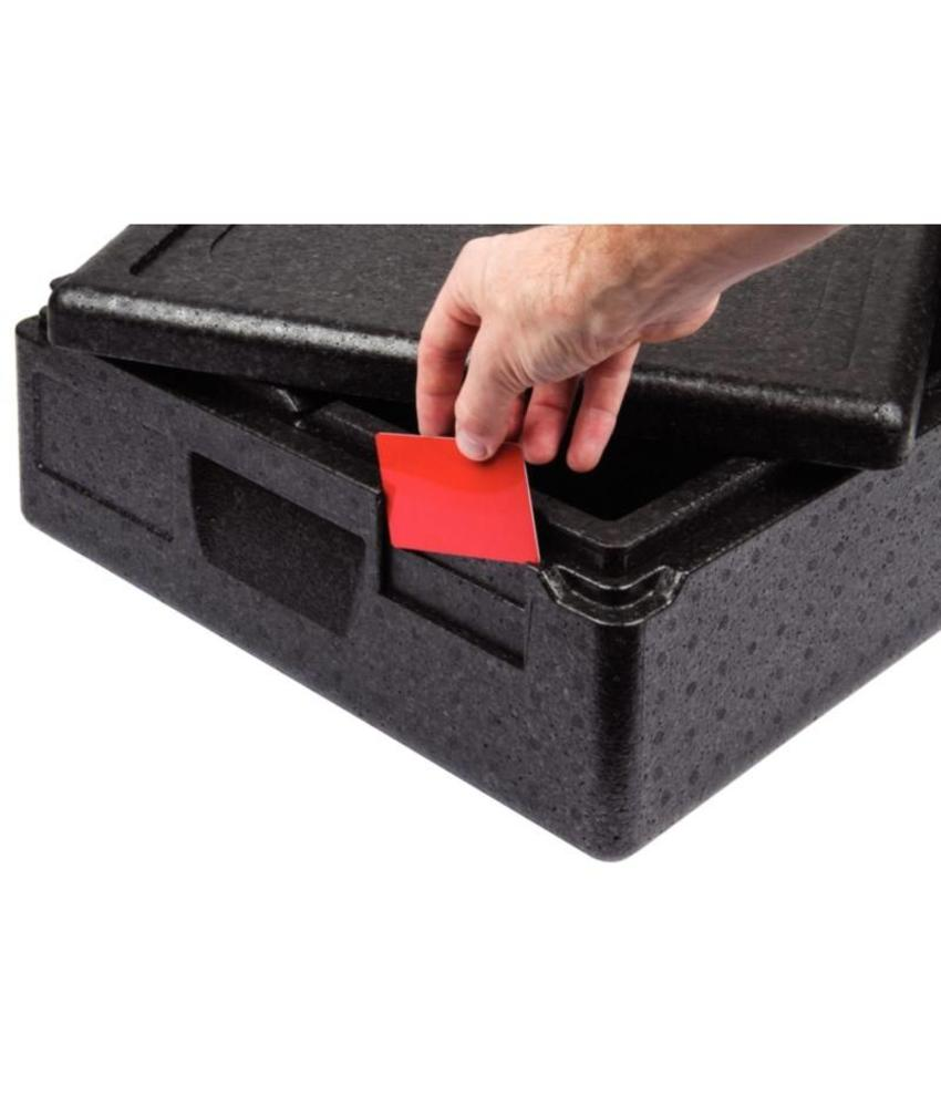 Thermo Future Box kleursticker rood (pk 6)