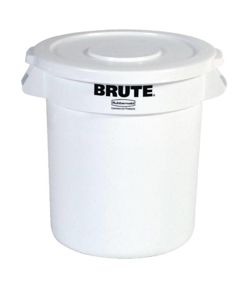 Rubbermaid Rubbermaid Brute ronde container wit 37,9L