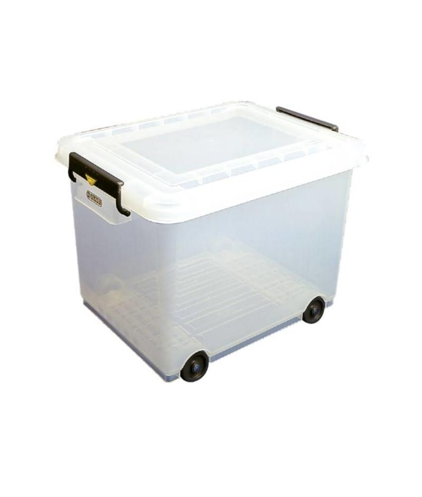 Araven Araven mobiele voedselcontainer met deksel 50ltr