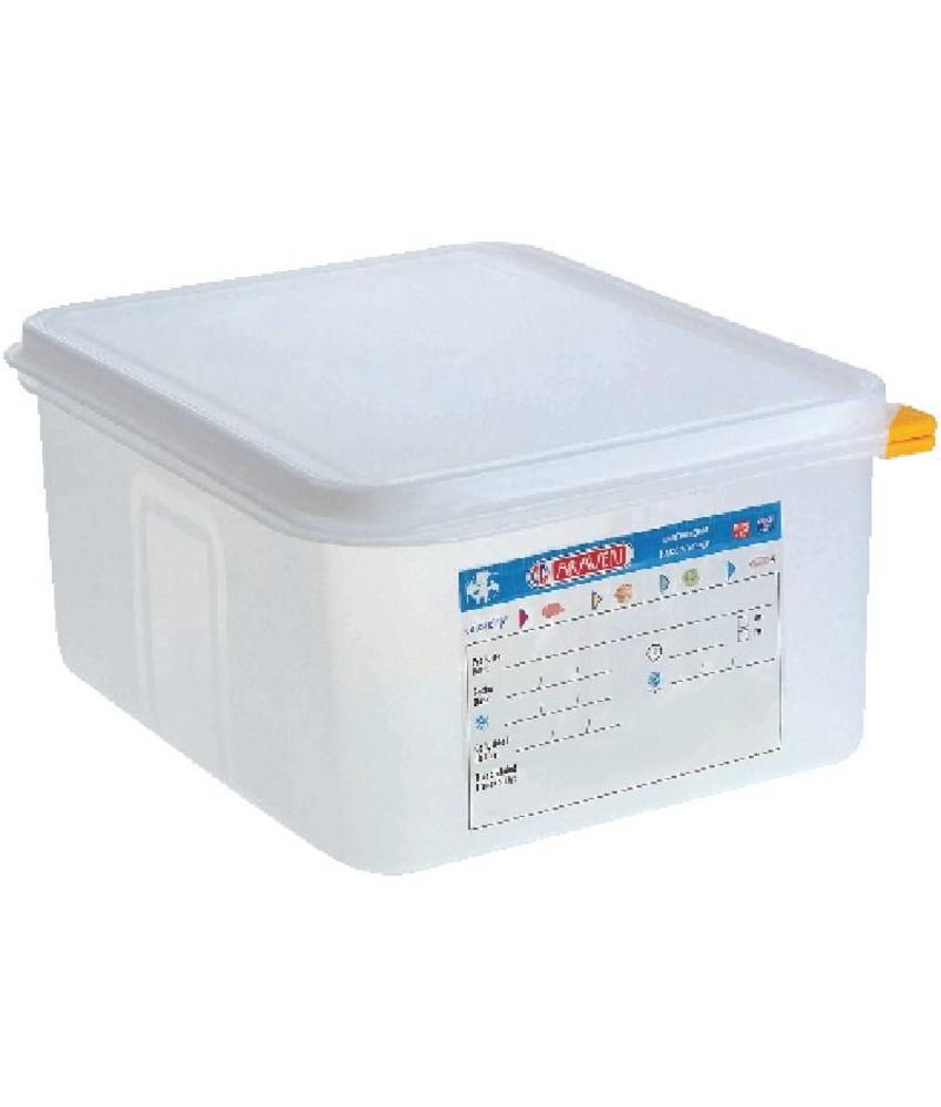 Araven Araven GN1/2 voedselbak met deksel 10L 4 stuks