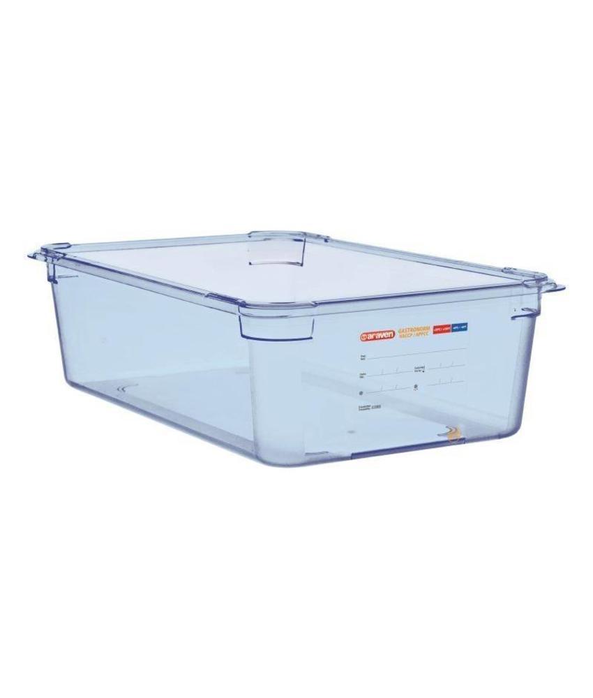 Araven Araven ABS blauwe GN1/1 voedseldoos 150mm