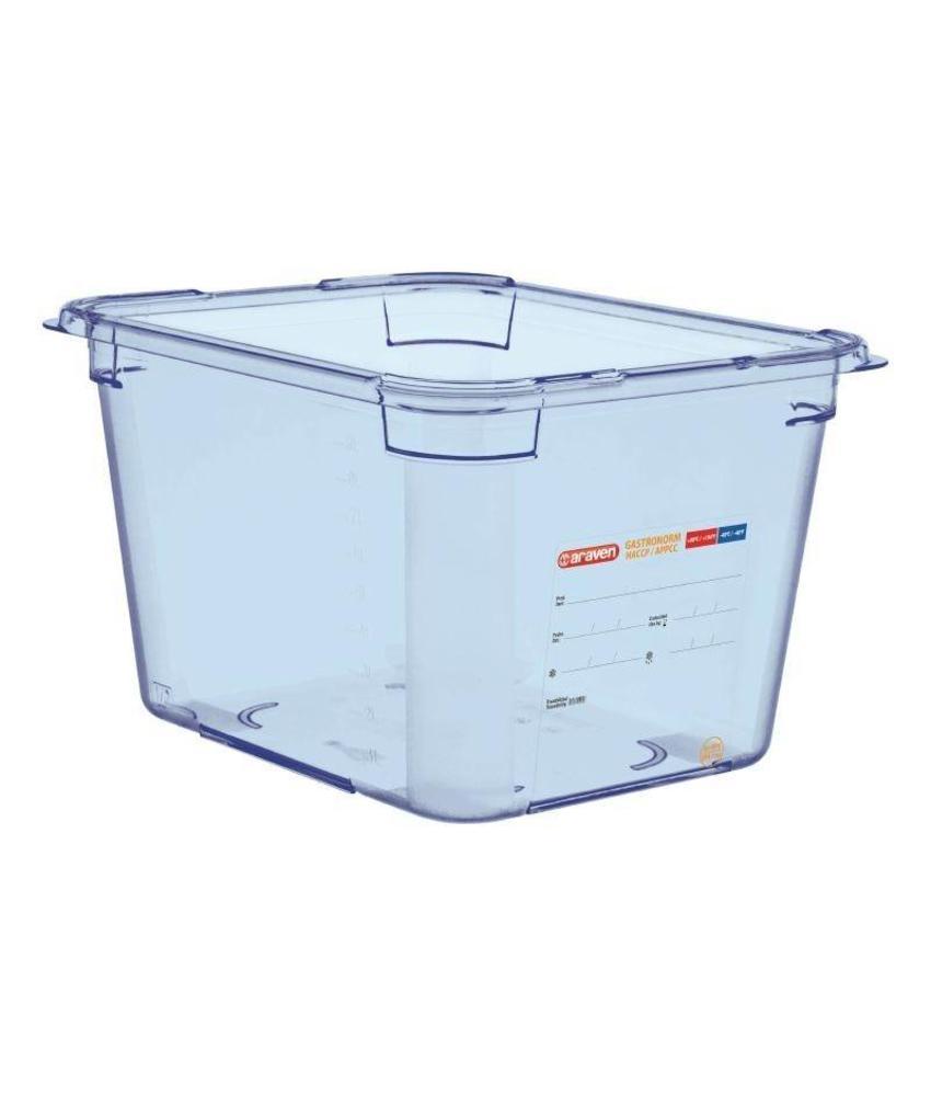 Araven Araven ABS blauwe GN1/2 voedseldoos 200mm